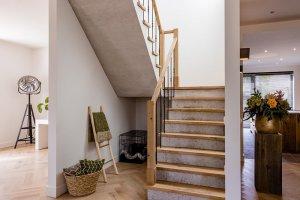 Eiken keuken en interieur Bergeijk