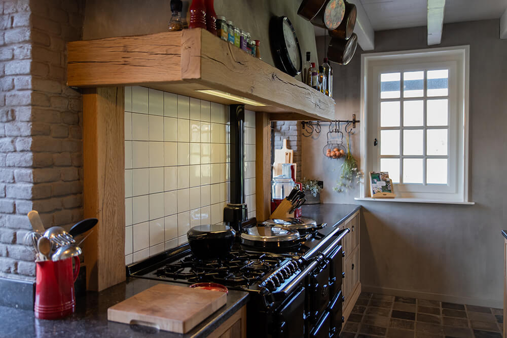 Landelijk eiken keuken
