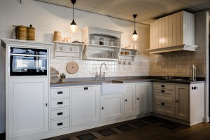 Showroom keuken landelijk