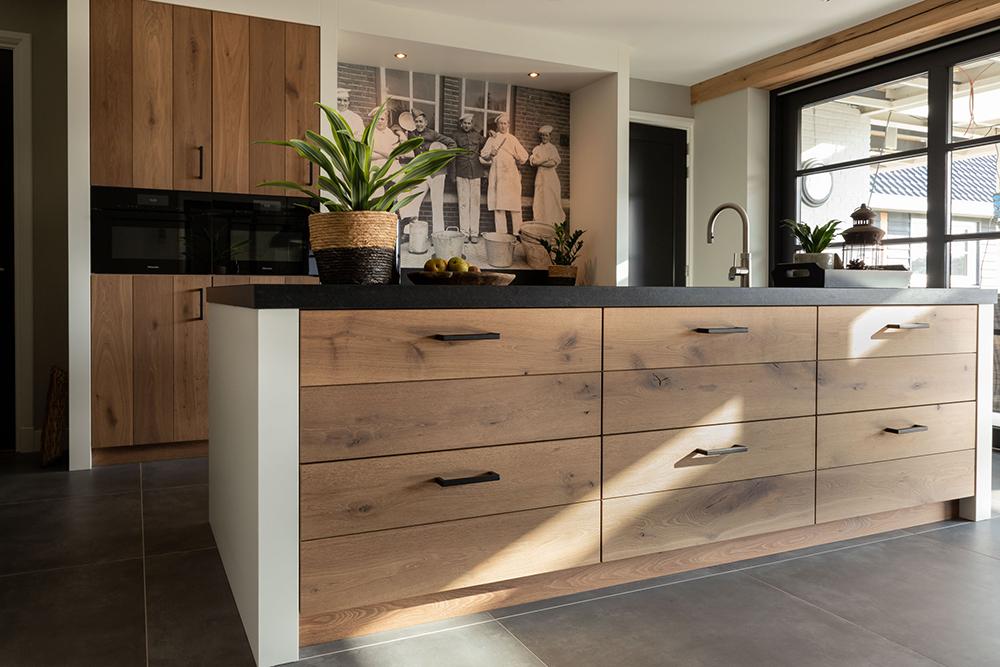 Eiken interieur & keuken